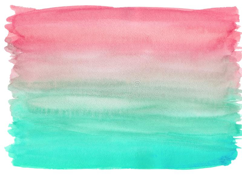 Watercolor wash texture background vector illustration