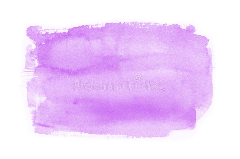Watercolor on white background royalty free stock image