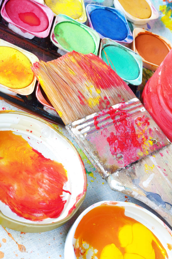 Download Watercolors stock image. Image of paper, color, inspiration - 23898941
