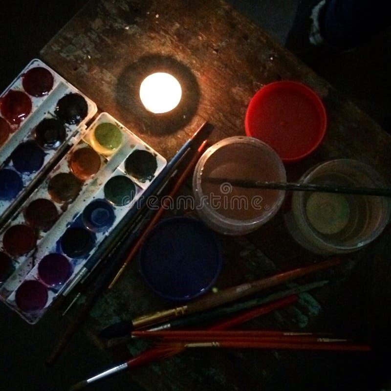 watercolors fotos de stock