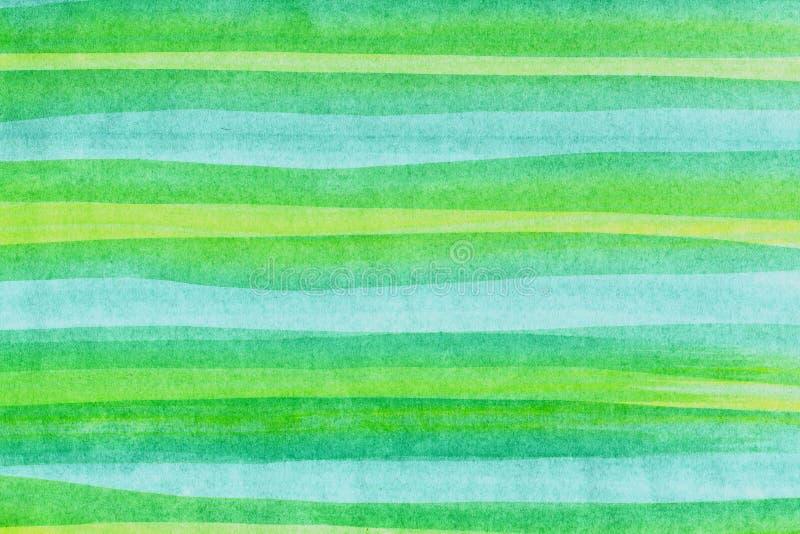 Watercolors horizontal bands stock images