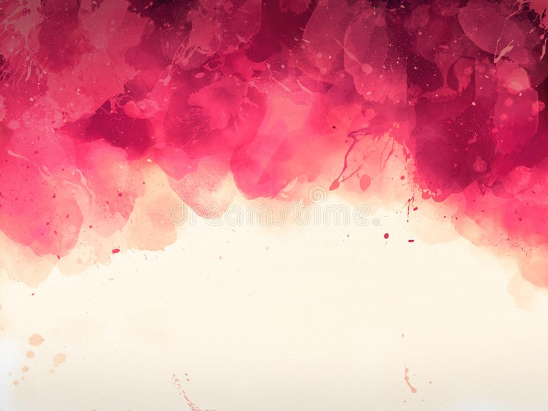 Watercolors for text royalty free illustration