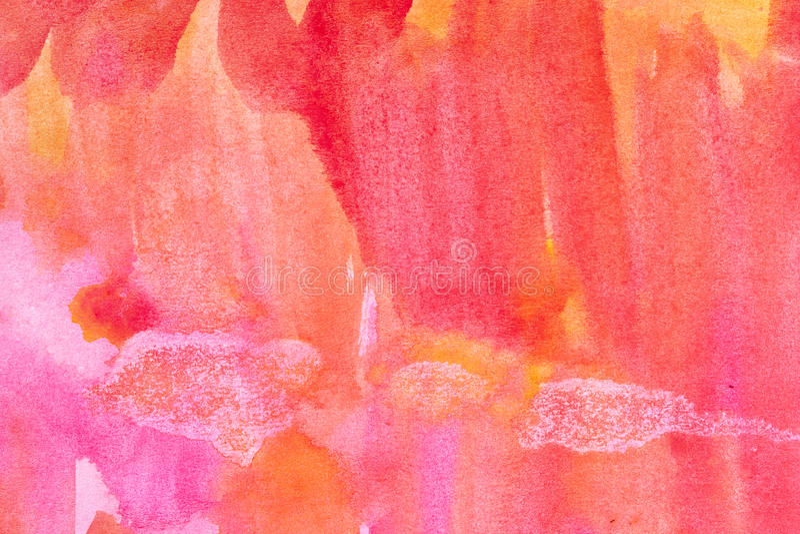 Watercolour abstrato fundo pintado fotografia de stock