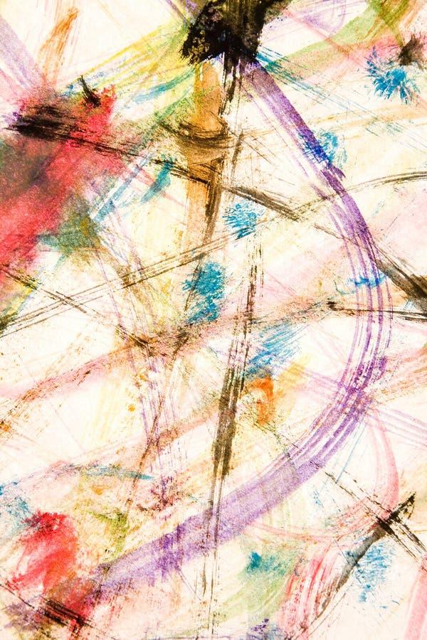 Watercolour-Anstrich lizenzfreies stockbild
