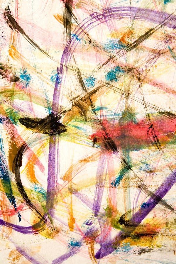 Watercolour-Anstrich stockfotografie
