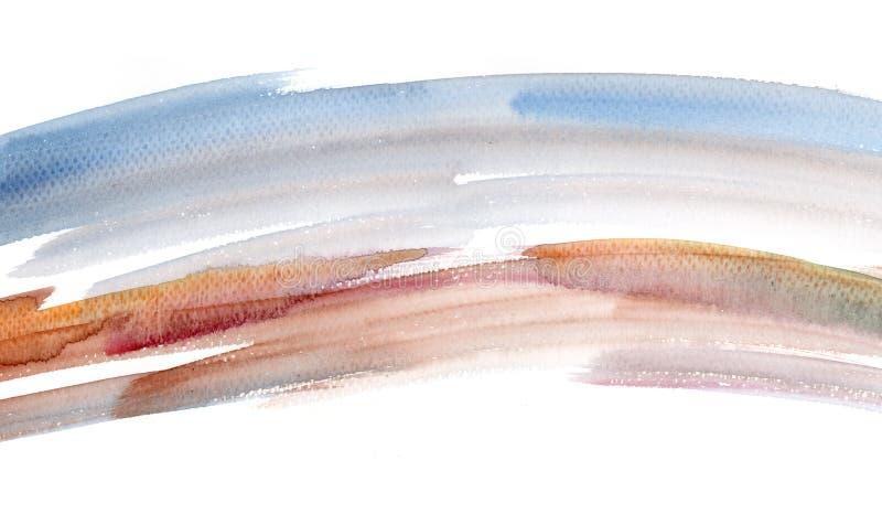 Watercolour Design Element Stock Image
