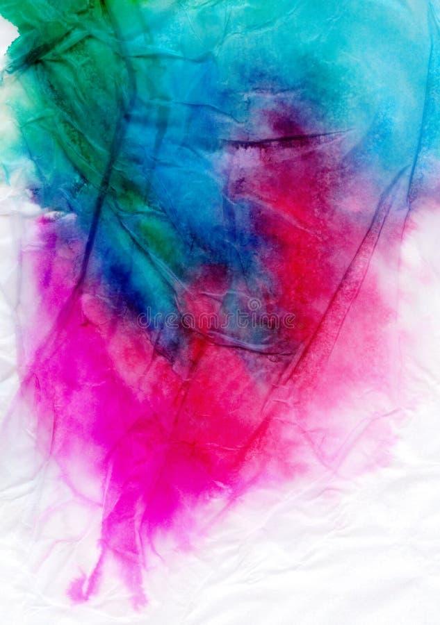 Watercolour do tecido ilustração do vetor