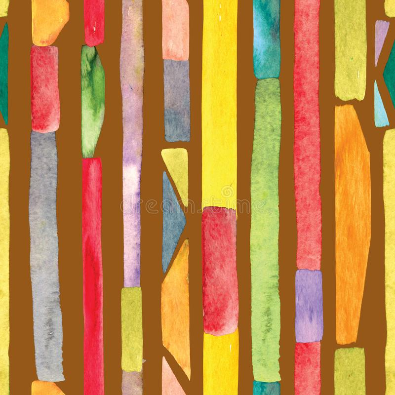 Watercolour lampasa tło ilustracji