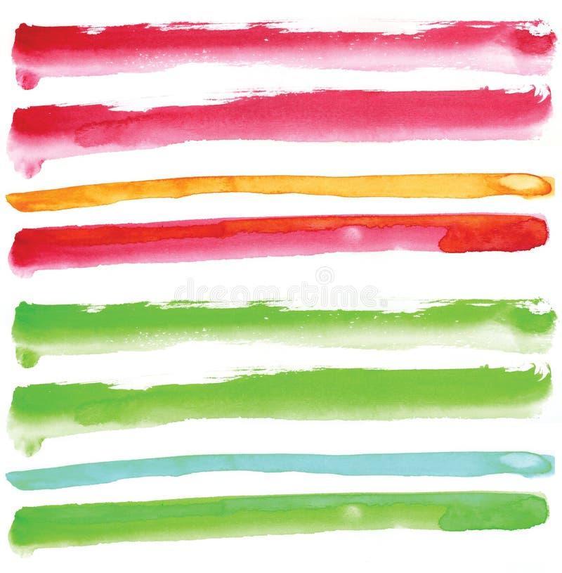 Download Watercolour line element stock illustration. Illustration of wallpaper - 23805812