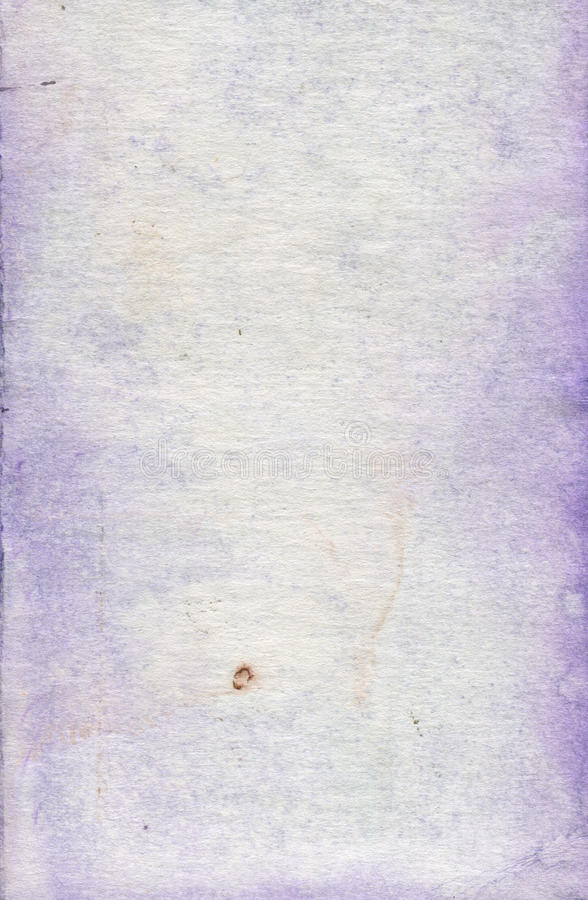 Watercolour paper texture stock image