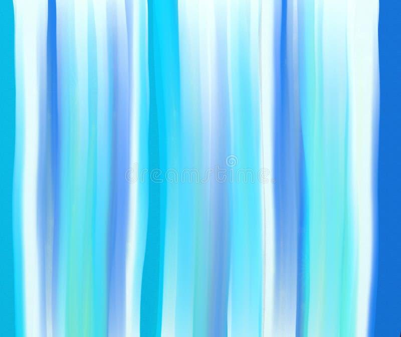 Watercolour stripes stock illustration