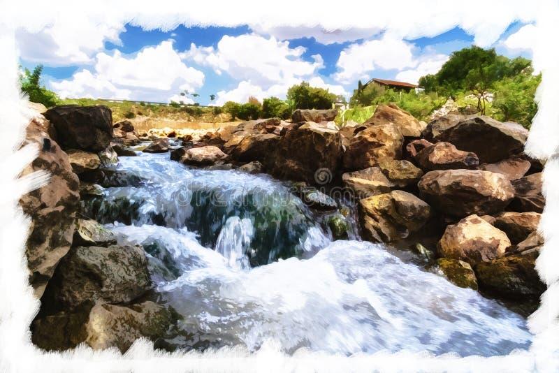 watercourse royaltyfri fotografi