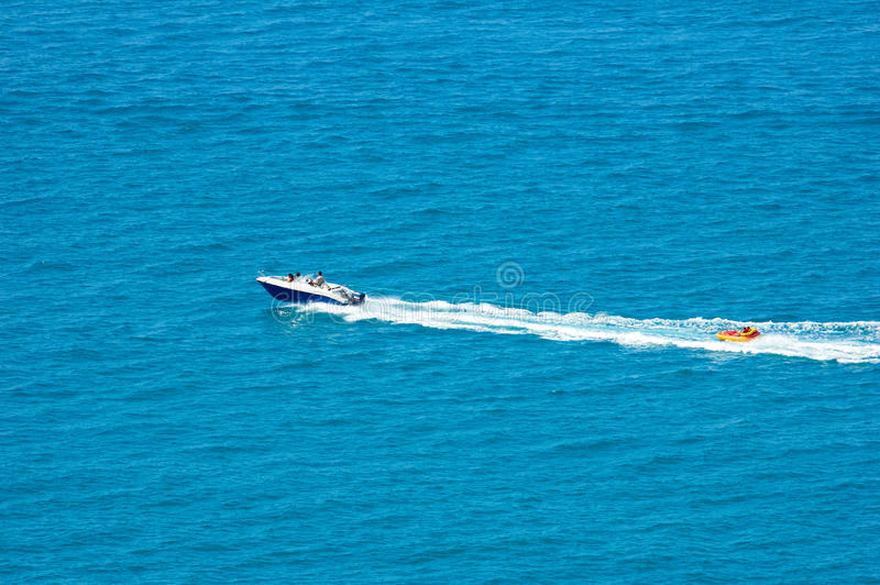 Watercraftbanaan royalty-vrije stock afbeeldingen