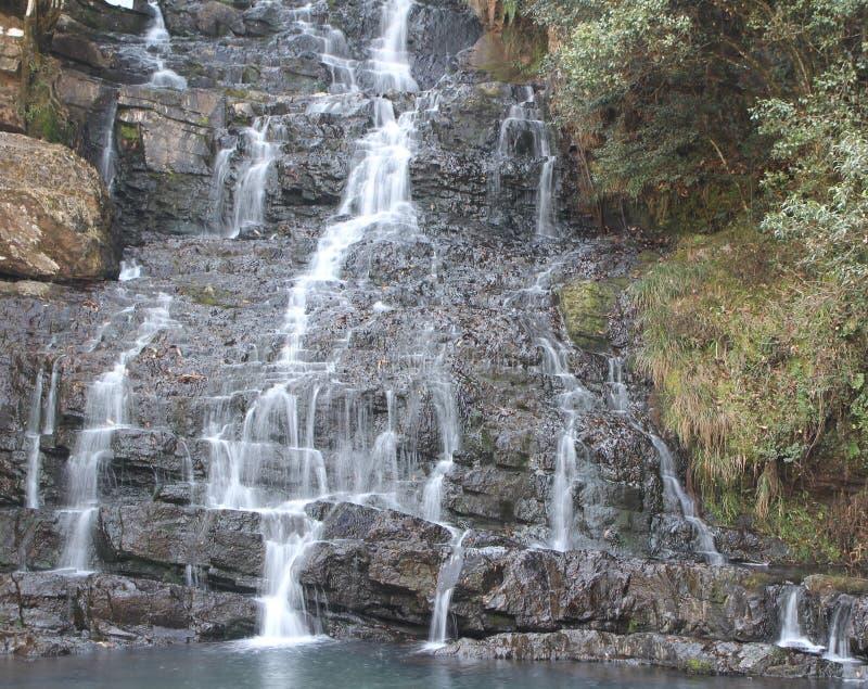 Waterdaling royalty-vrije stock foto