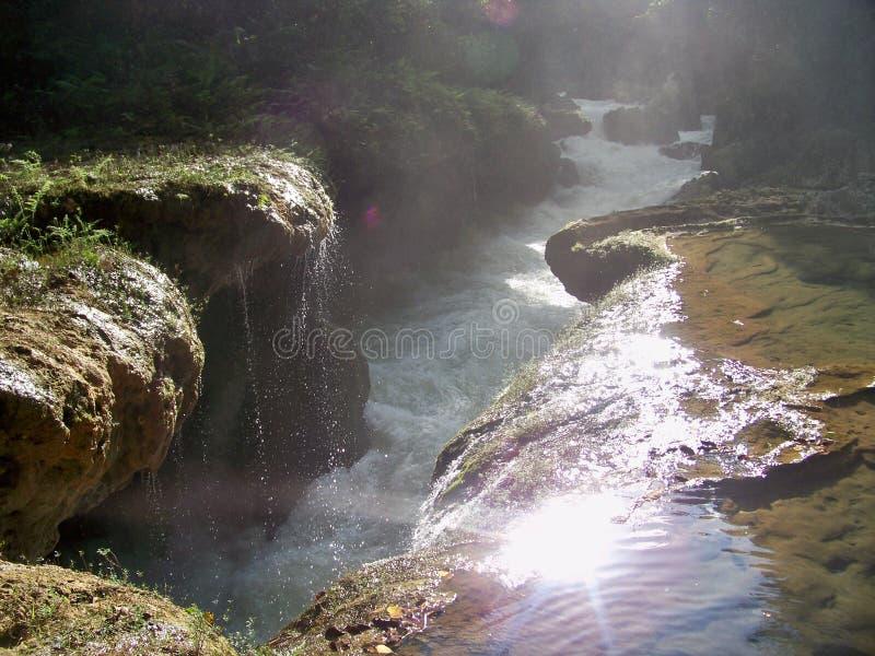 Waterdaling stock afbeelding