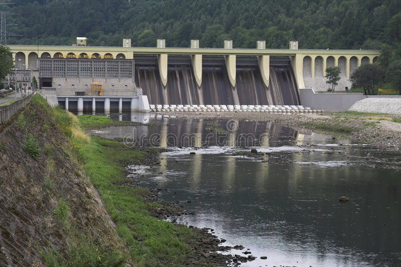 Waterdam royalty-vrije stock foto's