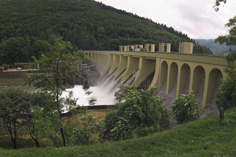 Waterdam stockfotos