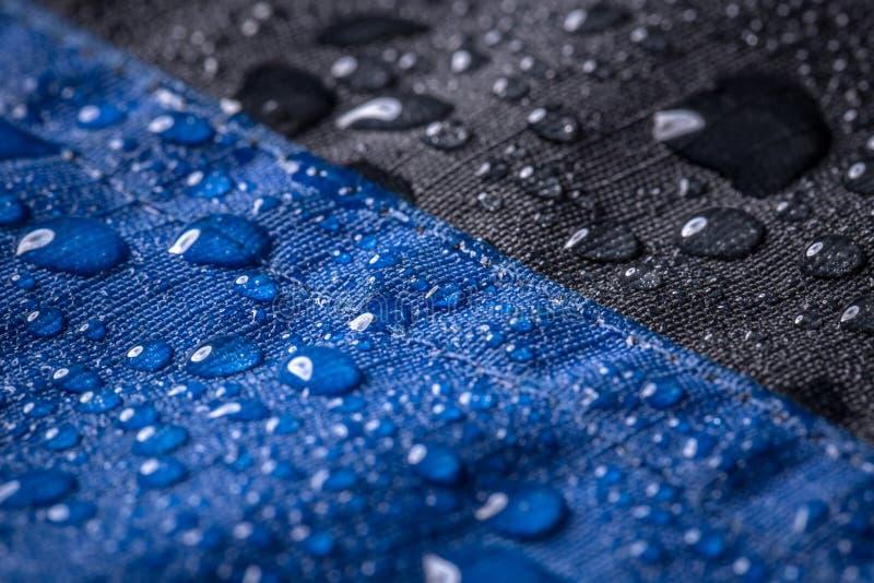 Waterdichte deklaagachtergrond royalty-vrije stock afbeelding
