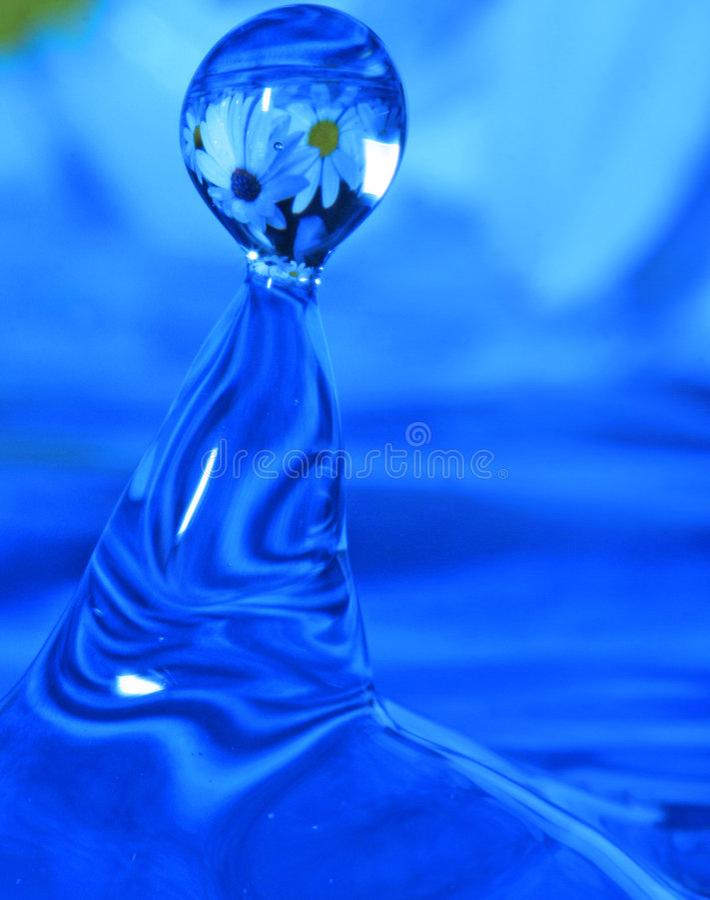 Waterdrop stockbilder
