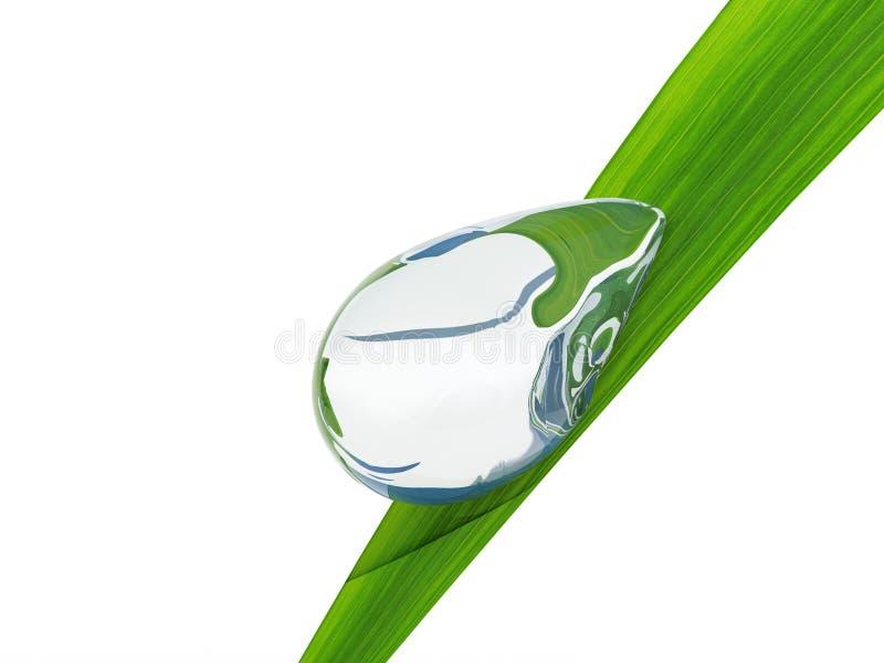 Download Waterdrop. stock illustration. Image of drop, environment - 13898621