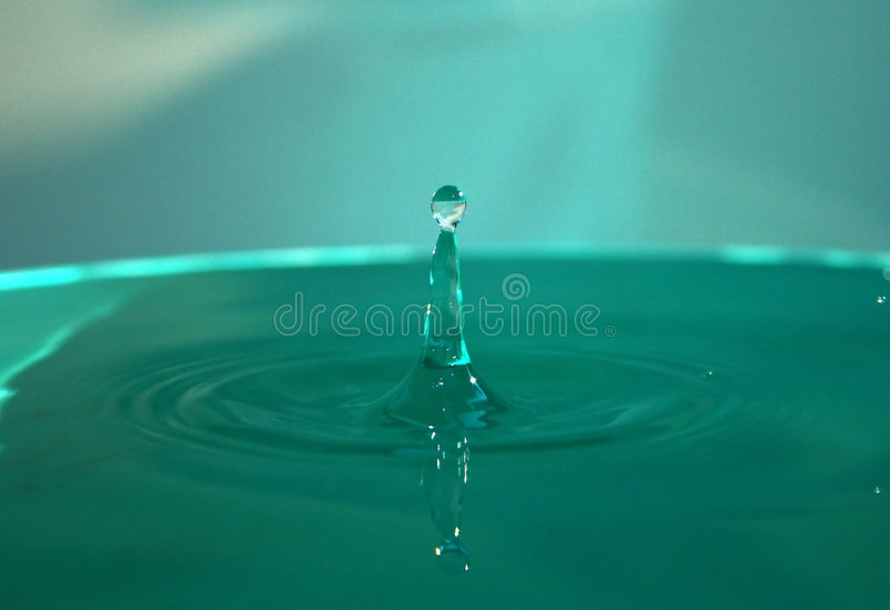 Waterdrop images stock
