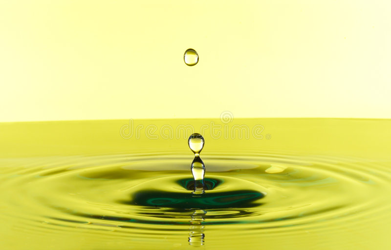 waterdrops 库存图片