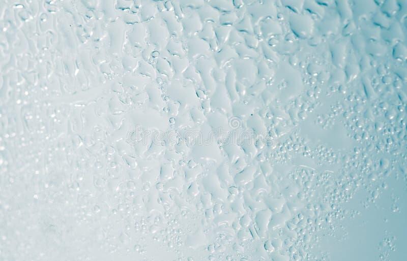 Waterdrops Makro fotografering för bildbyråer