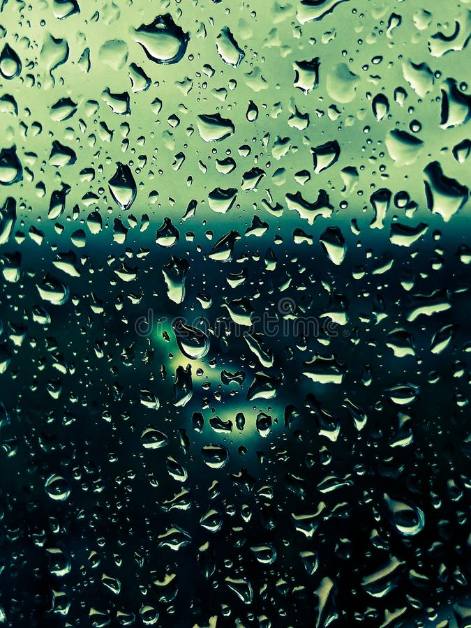 Waterdrops on a window. royalty free stock photos