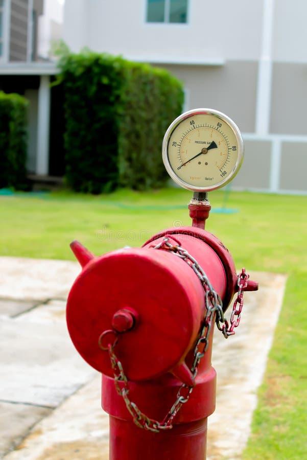 Waterdrukmeter royalty-vrije stock afbeelding