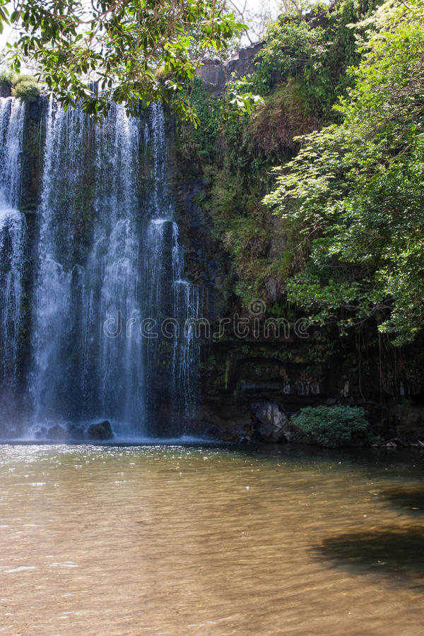 Waterfal Bagaces in Costa Rica fotografie stock