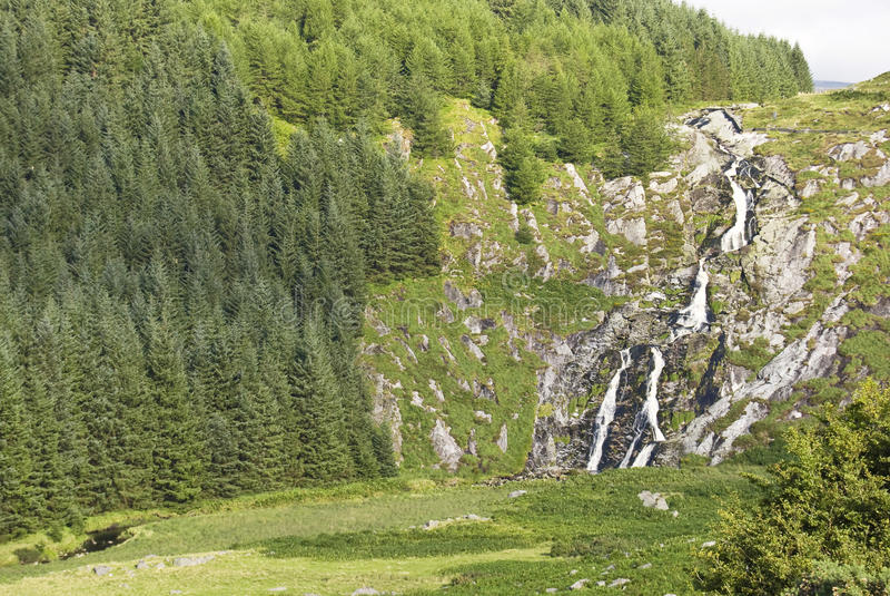Download Waterfall stock photo. Image of glenmaonass, vacation - 10593996