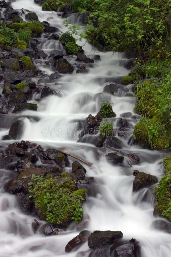 Waterfall. royalty free stock photography