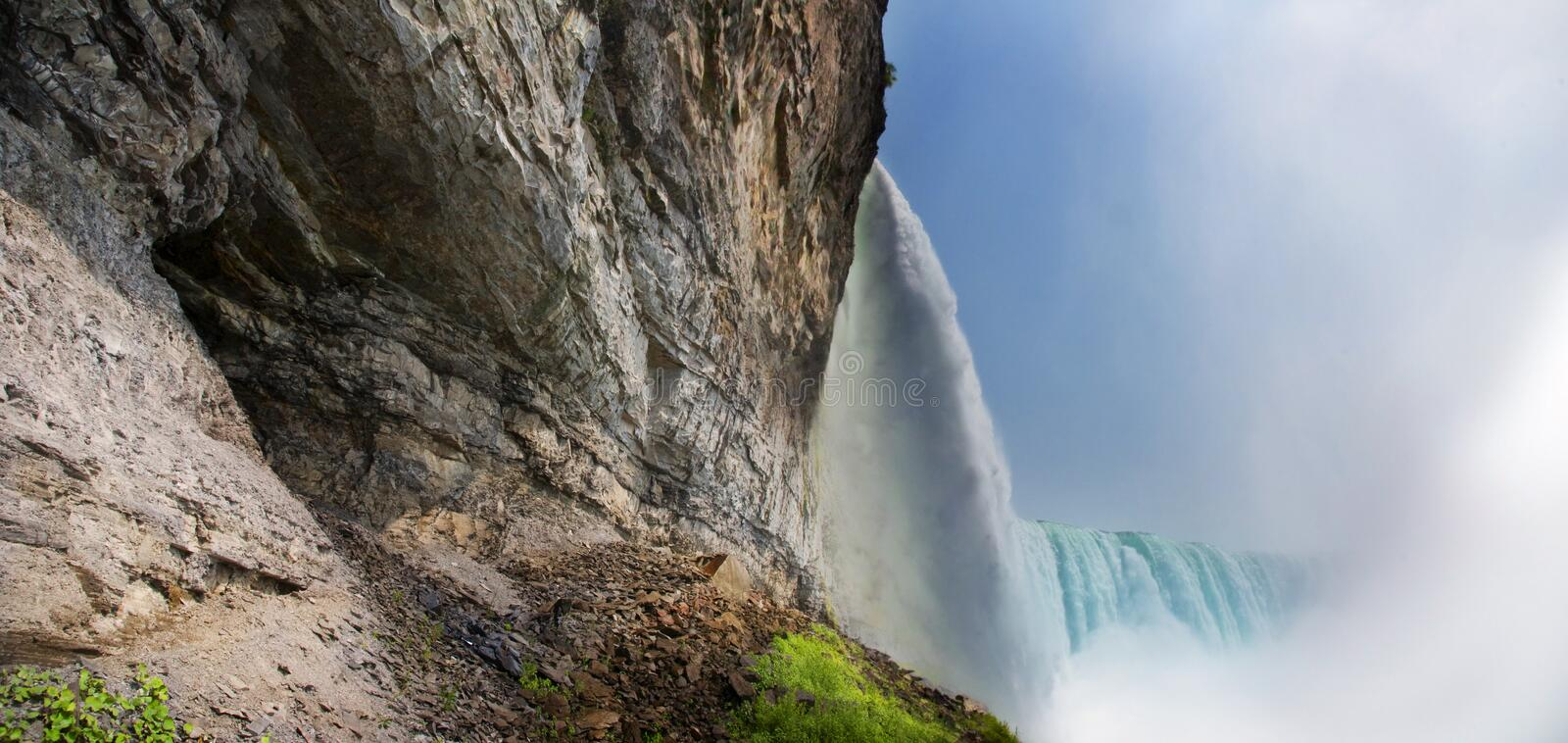 Download Waterfall stock image. Image of landscape, water, wall - 15463827