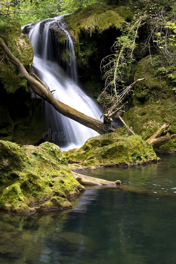 Download Waterfall stock image. Image of relaxing, anina, peace - 15826421