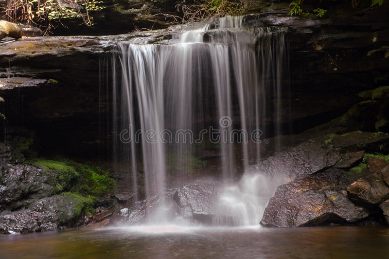 Download Waterfall stock image. Image of cascade, tranquil, relaxing - 171735