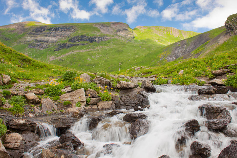 The waterfall stock images