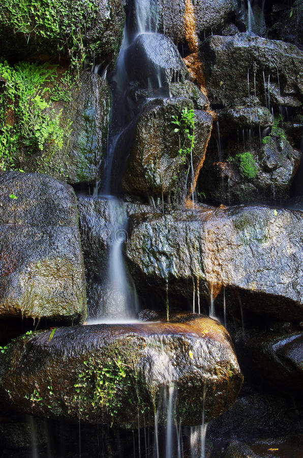 Download Waterfall stock image. Image of park, background, calmness - 20137573