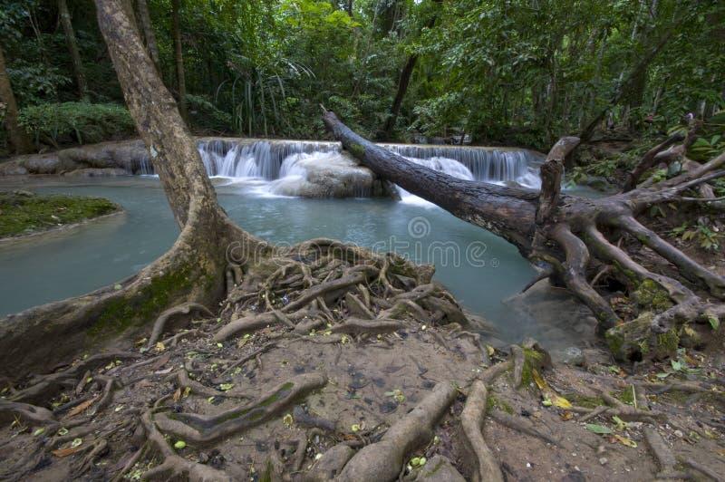 Download Waterfall stock image. Image of fluid, rock, fall, heaven - 21303687