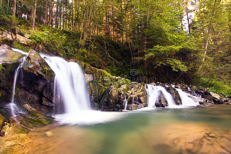 Download Waterfall stock photo. Image of flowing, plants, image - 21765022