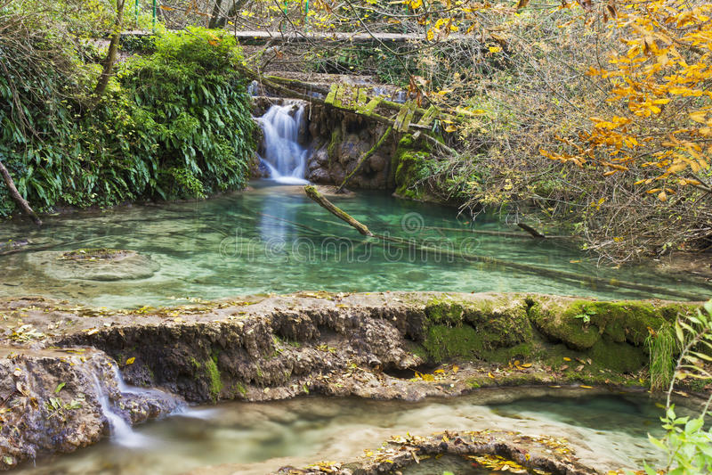Download Waterfall stock photo. Image of rain, blue, cascade, grass - 22008898