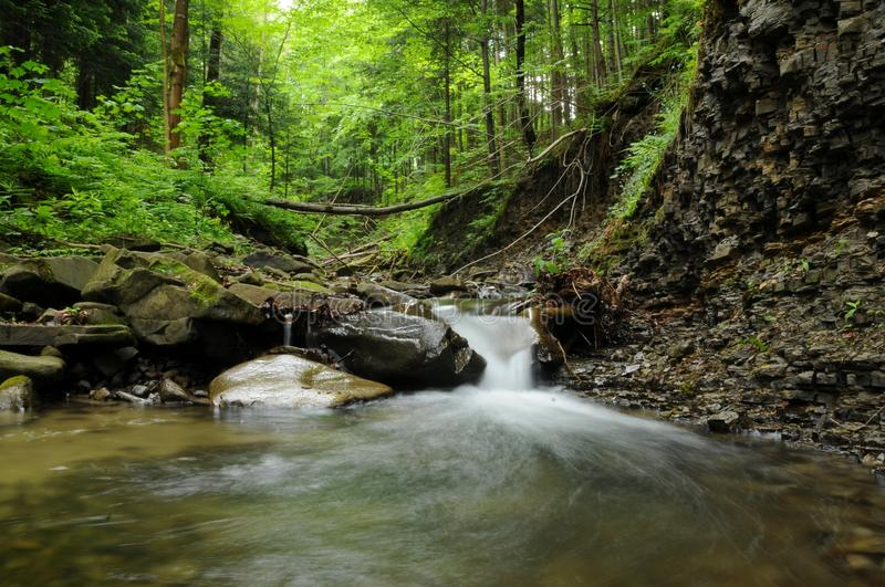 Download Waterfall stock image. Image of cascade, fresh, ecology - 25137481