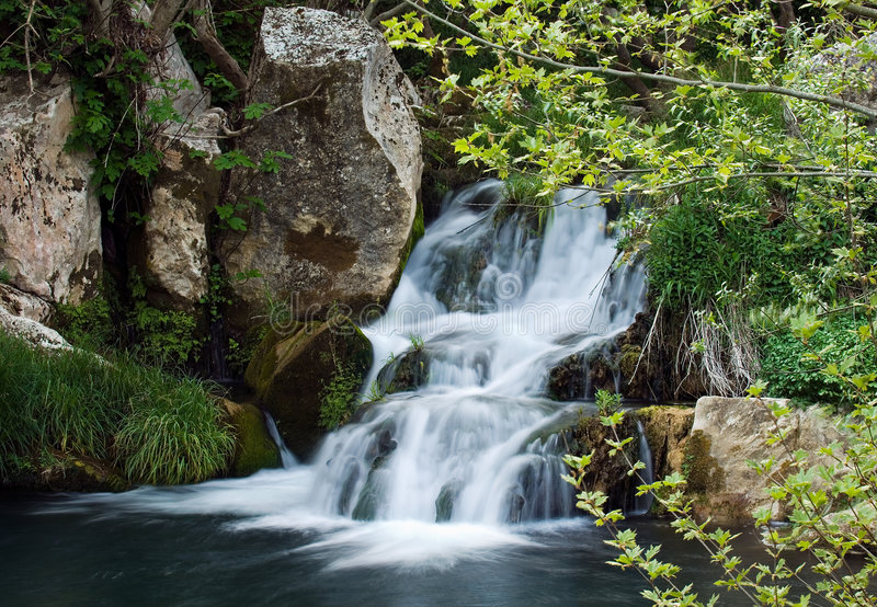 Download Waterfall stock image. Image of greek, harmony, countryside - 2539123