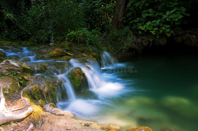 Download Waterfall stock image. Image of green, landscape, transparent - 26158439