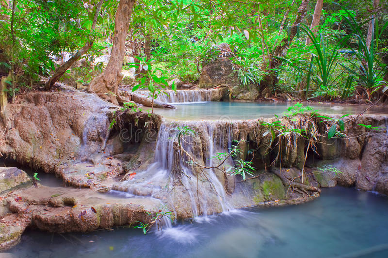 Download Waterfall stock image. Image of emerald, fresh, cascade - 28456075