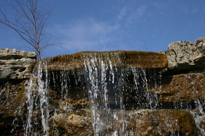 Download Waterfall 3 stock photo. Image of landscaping, waterfall - 83702