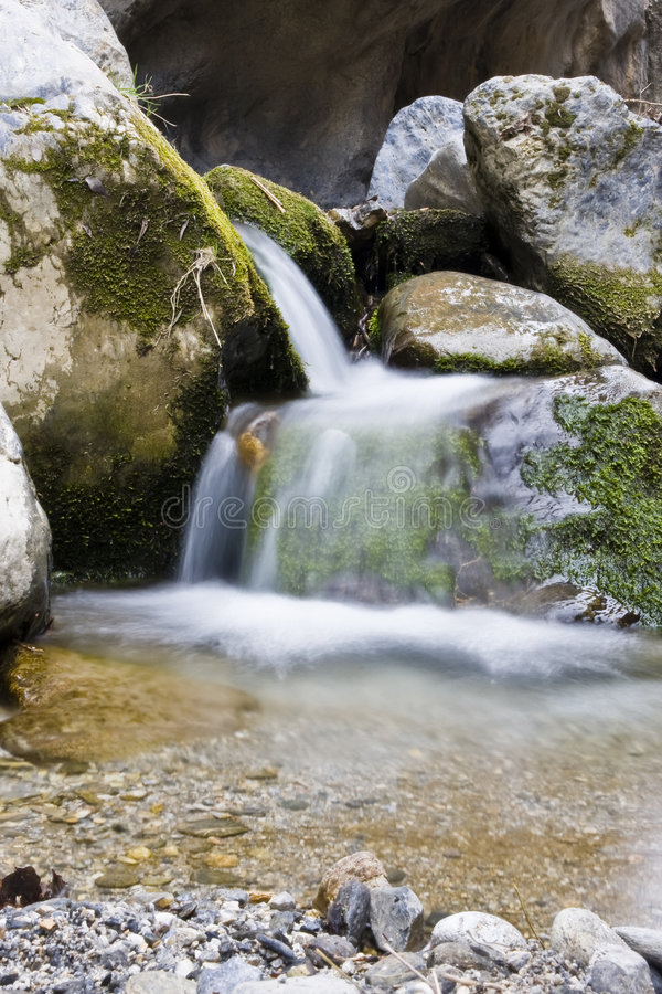 Download Waterfall stock photo. Image of forest, river, plant, smooth - 4355424
