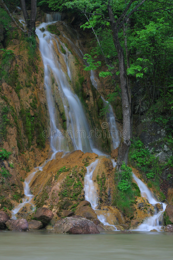 Download Waterfall stock photo. Image of waterfall, landscape, mountain - 5333726
