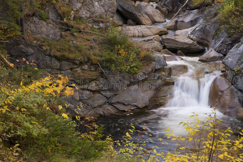 Download Waterfall stock image. Image of beauty, yellow, colorful - 7125765