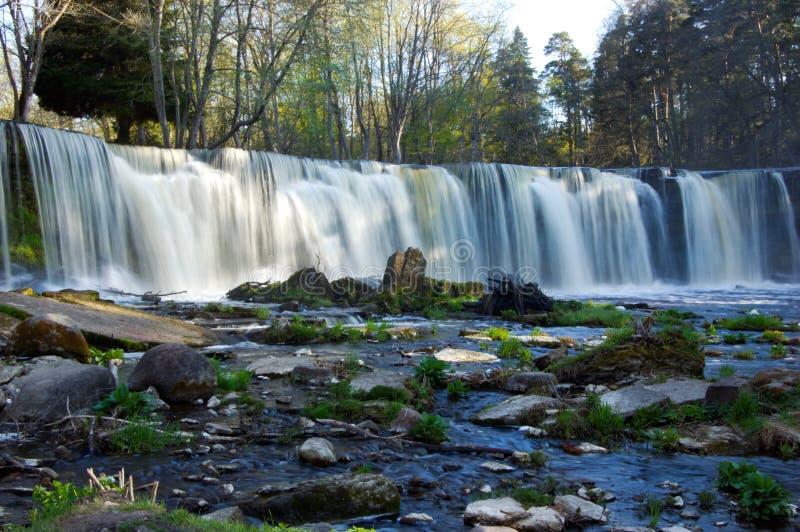 Download Waterfall stock image. Image of estonia, grass, rain, nature - 9755081