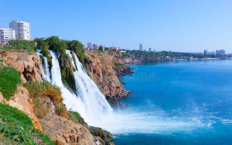 Waterfall Antalya stock photography